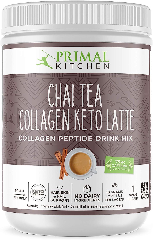 Primal Kitchen Collagen Keto Latte 8.55 Tea 2021new shipping free shipping 2021 Oz chai