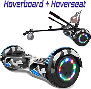 "COLORWAY Hoverboard Hover Scooter Board 6,5"" con Asiento"