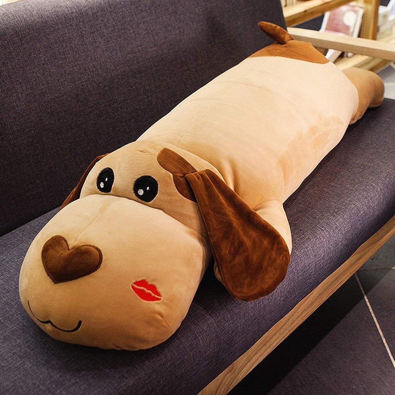 Lquide Pogo Dog Oreiller de lit de Coussin Long Oreiller Oreiller de Voiture Oreiller Sommeil Mignon (80cm) (Couleur  Bouche Alice)
