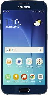 Samsung Galaxy S6 (SM-G920V) - 32GB Verizon + GSM Smartphone - Black Sapphire (Renewed)