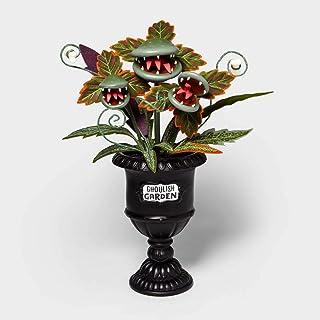 "Hyde & Eek 28"" Large Faux Creepy Ghoulish Garden Halloween Black Planter Boutique"