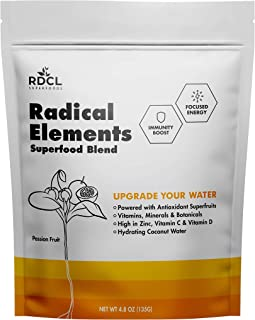 RDCL Superfoods Functional Hydration Powder - UPGRADE YOUR WATER - Immunity + Focused Energy - Delicious, Plant-Based Supe...