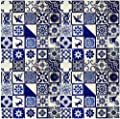 """100 Hand Painted Talavera Mexican Tiles 4""""x4"""""""