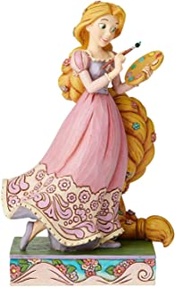 Enesco Disney Traditions by Jim Shore Tangled Princess Passion Rapunzel Figurine, 7 Inch, Multicolor