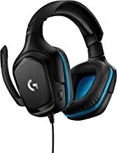 Logitech G432 - Auriculares Gaming con Cable, Sonido 7.1