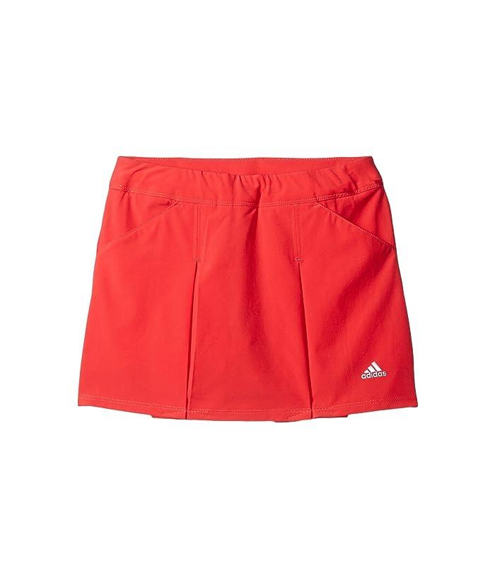 adidas Golf Kids  Fashion Pleated Skorts (Big Kids) (Coral Pink) Girls Skort
