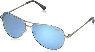 Revo Womens Polarized Sunglasses Johnston Aviator Frame 58 mm