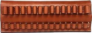 vintage leather bullet belt