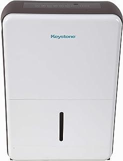 Keystone White 50-Pint Dehumidifier Gray
