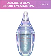 Lime Crime Diamond Dew Glitter Eyeshadow, Tearful - Aqua Iridescent Lid Topper - Reflective Sparkle Shadow for Lids, Cheeks & Body - Won't Smudge or Crease - Vegan - 0.14 fl oz