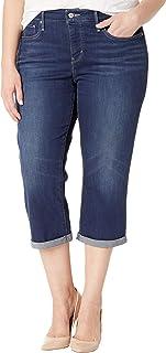 Levi's Women's Plus Size Shaping Capris