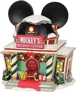Department 56 Disney Village Mickey's Holiday Center Lit Building, 7.375