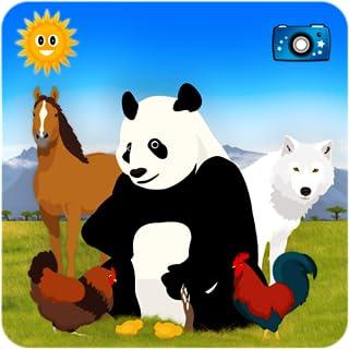 全部找到它们:寻找动物 - 儿童益智游戏 - 通过照片、拼图及视频去探索农场并进行环球狩猎旅行!