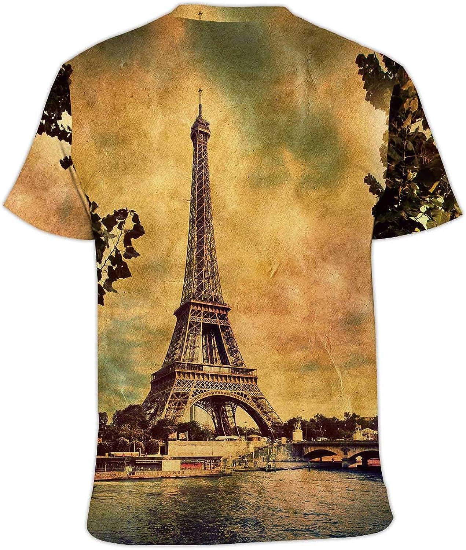Hitecera Boston,Fashion Crewneck T-Shirt for Men//Women//Boys//Girls Massachusetts S