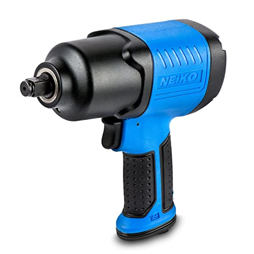 Neiko 30128A Composite Air Impact Wrench, 1/2-Inch Square Drive | Pneumatic