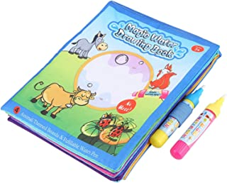 Kids Coloring Book, Keep Hand Clothes Clean Magic Water Drawing Book, for Kids Above 3 Years Old
