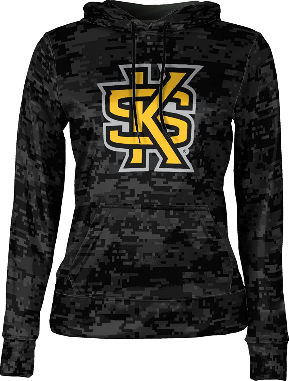 ProSphere Kennesaw State University Girls' Pullover Hoodie, School Spirit Sweatshirt (Digital)