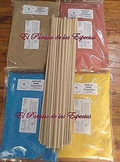Pack cuatro Sabores Colores para Algodón de Azúcar - 4