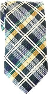 Men's Tartan Check Woven Microfiber Tie