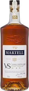 Martell V.S. Fine Cognac 1715 – Einzigartiger Cognac mit würzigem Geschmack – Ideal als Geschenk oder für besondere Anlässe geeignet – 1 x 0,7 L