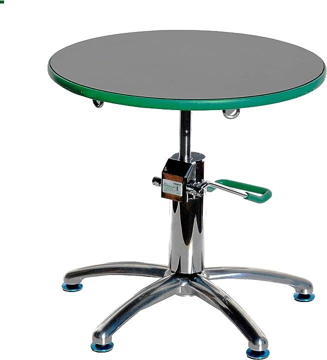 Tavolo professionale da lavoro tondo per bonsai green-t pollice verde B01N6WDA0C