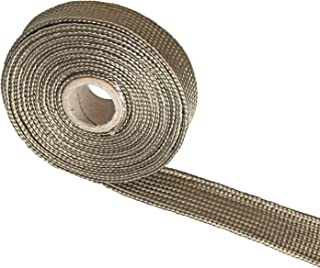 Titanium Fiberglass Heat Wrap Wire Shield Sleeve- 3/5
