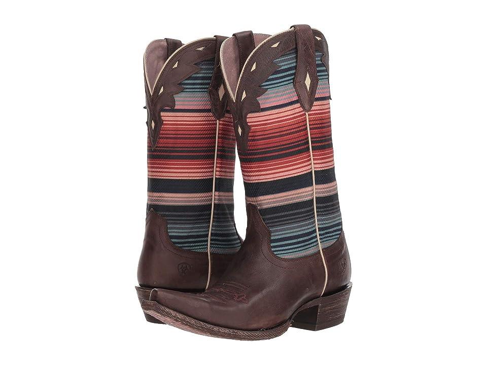 Ariat Circuit Serape (Chocolate Grey/Serape Dusk) Cowboy Boots