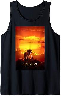 Disney Lion King Mufasa And Simba Pride Lands Poster Débardeur