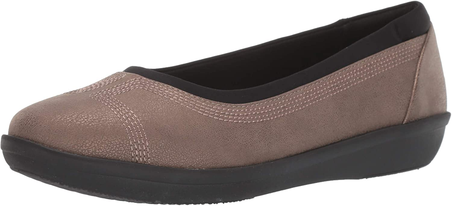 Clarks Damen Ayla Low, Bronze Metallic Synthetic, 37.5 EU