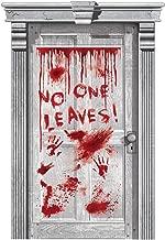 Asylum Dripping Blood Door Cover | Halloween Decoration