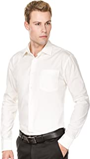 Luxton Men's Regular Fit Long Sleeve Cotton Poly Dress Shirt - Available in More Colors
