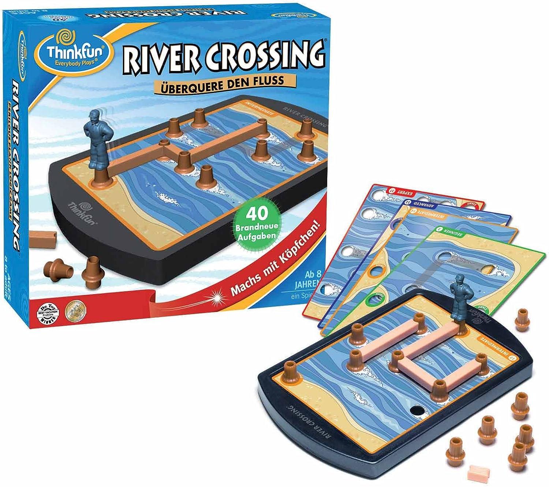 Con 100% de calidad y servicio de% 100. HCM Thinkfun 11115 11115 11115 River Crossing - Juego de mesa [importado de Alemania]  ahorra hasta un 30-50% de descuento