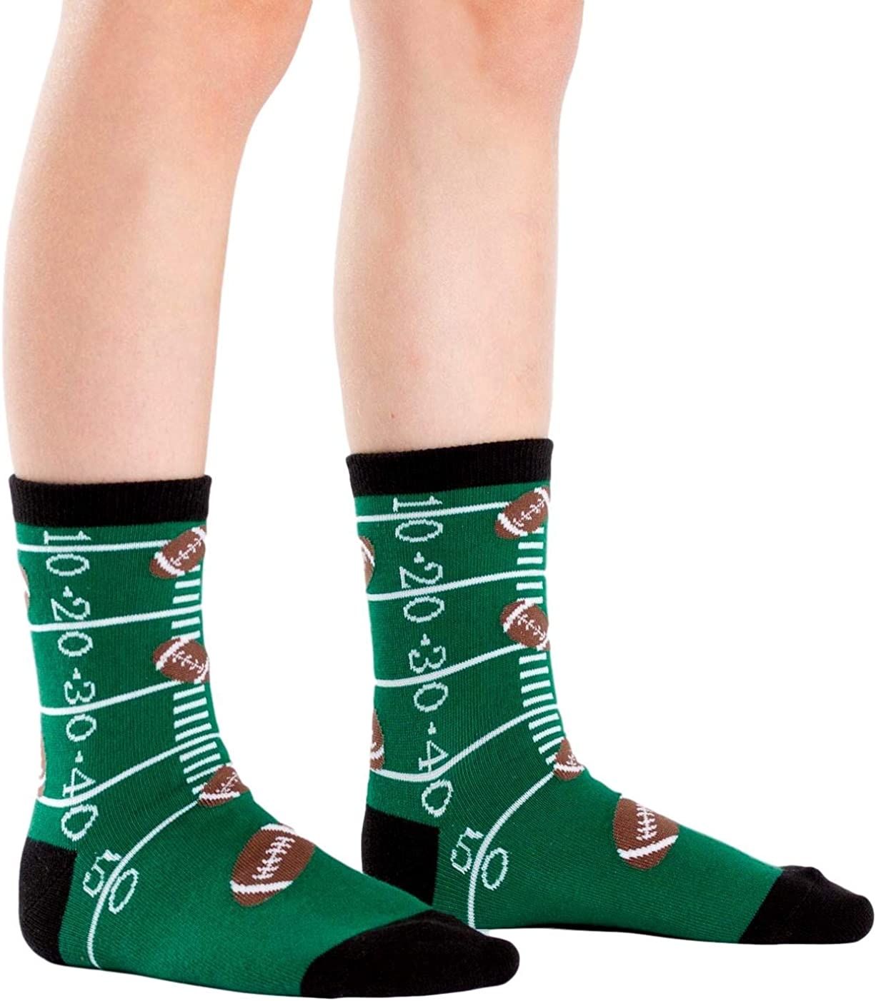 Sock It To Me Boys Crew Football Socks