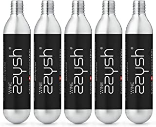 zzysh Wine 5 Cartridges for zzysh Wine Hand Piece, With Argon Gas, For up to 8 uses, Steel, 201-1010-0001