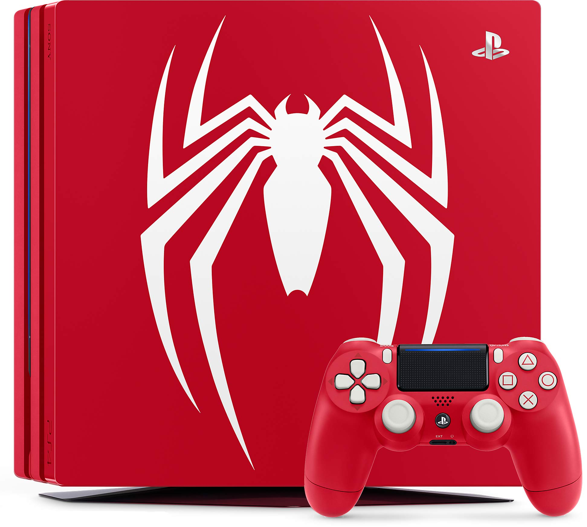 Sony Marvels Spider-Man - Limited Edition PS4 Pro Bundle Rojo 1000 GB Wifi - Videoconsolas (PlayStation 4 Pro, Rojo, 8192 MB, GDDR5, AMD Jaguar, AMD Radeon): Amazon.es: Videojuegos