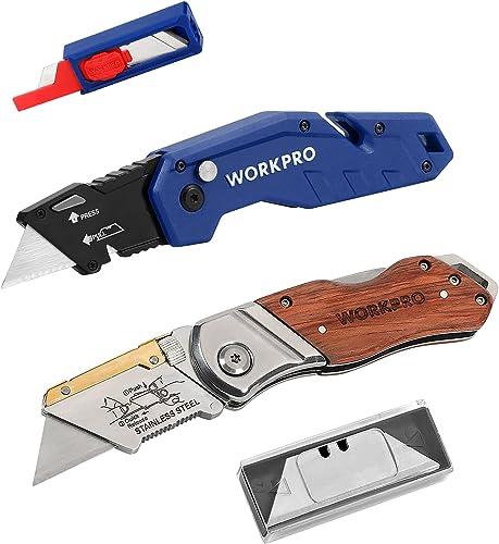 popular WORKPRO new arrival 2021 Folding Utility Knife online