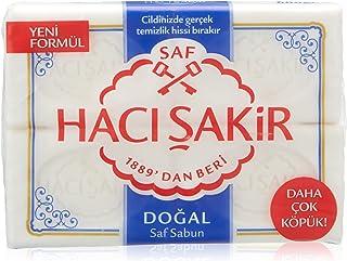 Hacı Şakir Beyaz Kalıp Sabun, 4 Adet x 150 gr