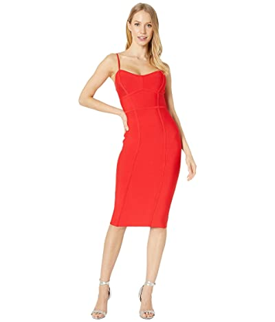 BCBGMAXAZRIA Bodycon Dress (Rosso) Women