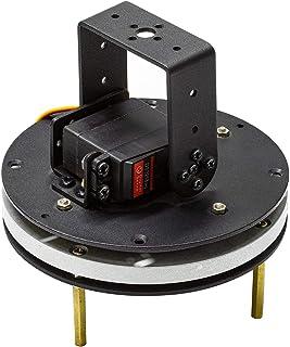 UCTRONICS Pre-Assembled 2 DoF Pan Tilt Digital Servo Kit, Full Metal Bracket for Building Robotic Arms, PTZ Cameras and More