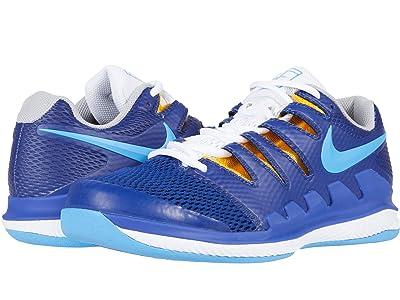 Nike Air Zoom Vapor 10 Carpet (Deep Royal Blue/Coast/White) Men
