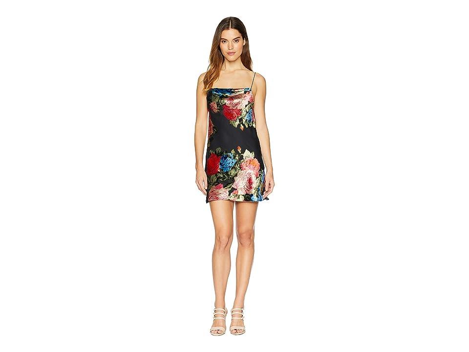 Show Me Your Mumu Sabine Slip Dress (Midnight Fiesta Burnout Velvet) Women