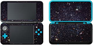 SKINOWN Vinyl Cover Decals Skin Sticker for Nintendo New 2DS XL - Starry Sky Black