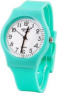RUIWATCHWORLD Sunshine Boys Girls Watches,Teenagers Kids Student Time Wrist Watch Soft Silicone Band Mini