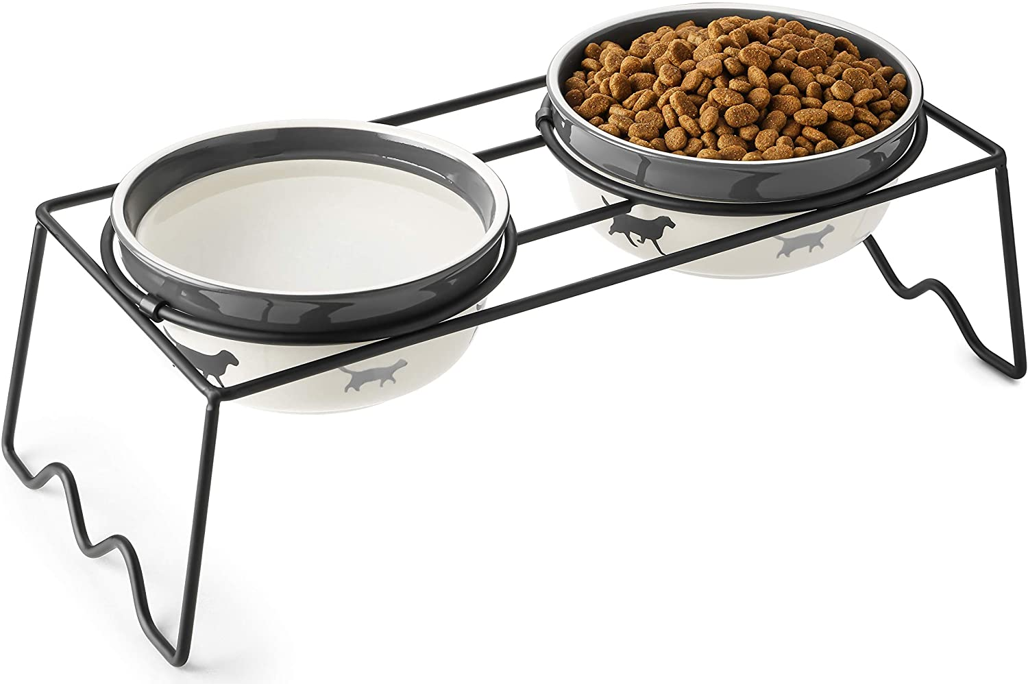 Phoenix Mall Y YHY Elevated National products Dog Bowls Food Raised Water Bowl Do Set and