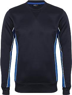 Finden & Hales Mens Quick Drying Crew Neck Sweatshirt