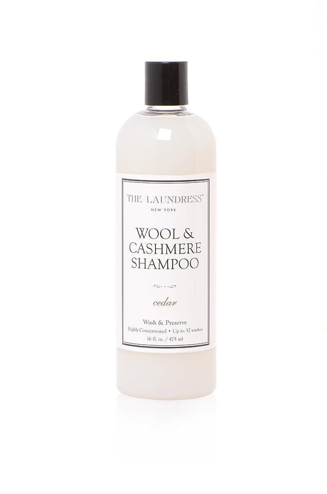 のヒープ伝える楽しませるTHE LAUNDRESS(ザ?ランドレス)  ウールカシミアシャンプー cedarの香り475ml