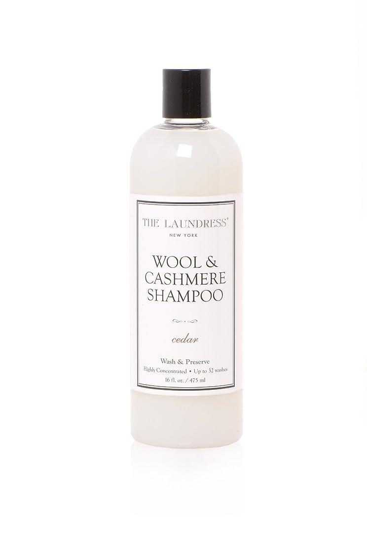 ピンポイントコンデンサーひらめきTHE LAUNDRESS(ザ?ランドレス)  ウールカシミアシャンプー cedarの香り475ml