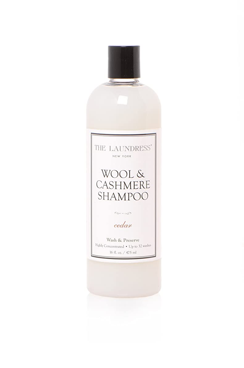 性的好ましい次へTHE LAUNDRESS(ザ?ランドレス)  ウールカシミアシャンプー cedarの香り475ml