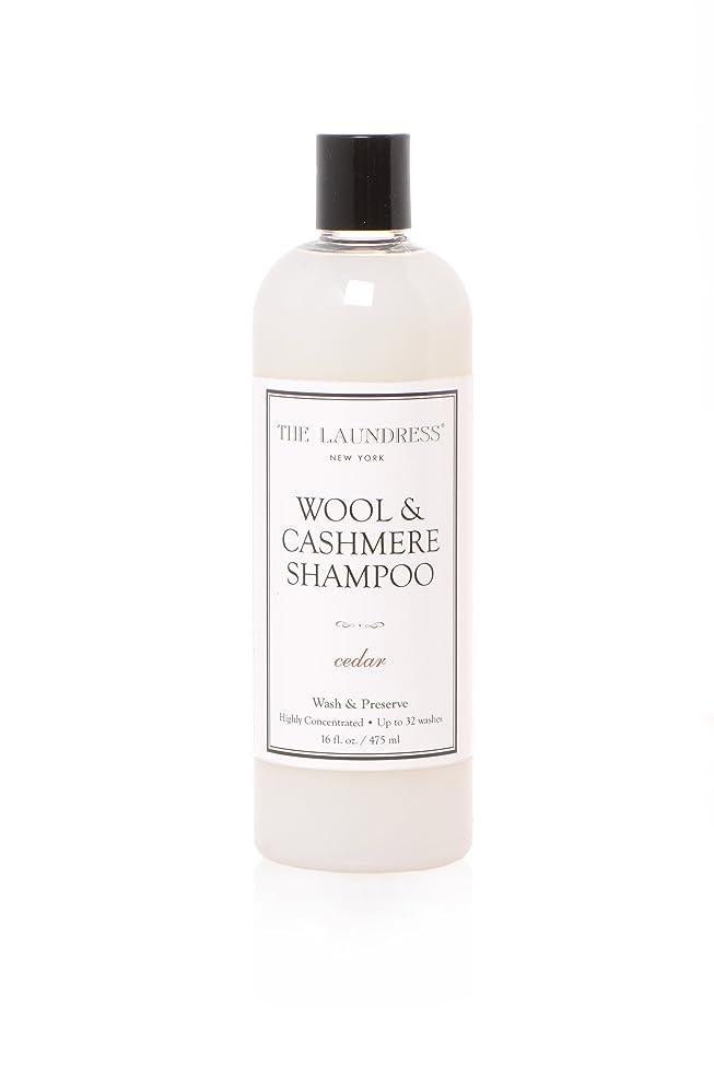 ダイアクリティカル委員会静かなTHE LAUNDRESS(ザ?ランドレス)  ウールカシミアシャンプー cedarの香り475ml