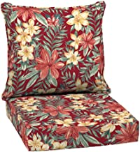 Arden Selections 24 x 24 Ruby Clarissa Tropical 2-Piece Deep Seating Outdoor Lounge Chair Cushion